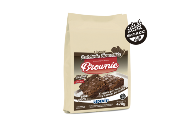 PREMEZCLA BROWNIE CHOCOLATE LEDEVIT