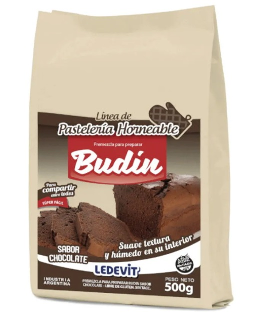 PREMEZCLA BUDIN CHOCOLATE LEDEVIT