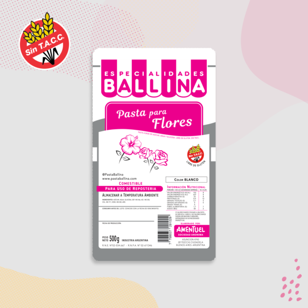 Pasta para flores-500grs-ballina-RECOR SRL