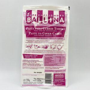 Pasta p/torta/ballina-750Grs-RECOR SRL