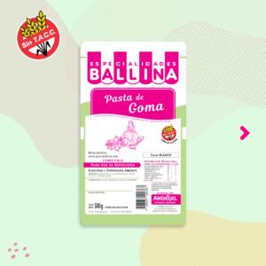 Pasta de goma-500grs-ballina-RECOR SRL