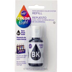Repuesto-Colorante-Negro-COLORIGHT-19ml-Wilton-RecorSrl